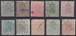 Especial Movil 014/xx (o) Usado. 1923 - Post-fiscaal