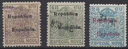 Especial Movil 029/xx (o) Usado. 1931 Republica - Post-fiscaal