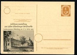 Bund PP2 D2/006 ALTES POSTGEBÄUDE OLDENBURG 1952  NGK 40,00€ - Post