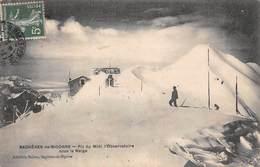 Bagneres De Bigorre (65) - Pic Du Midi - L'Observatoire Sous La Neige - Bagneres De Bigorre