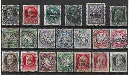 Lot De 20 Perforés Allemagne - Bavière - Francia