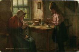 TUCK'S POSTCARD 1910s - SCOTTISH LIFE AND CHARACTER - GRANNIES GREATEST COMFORT - 1910s (BG891) - Tuck, Raphael