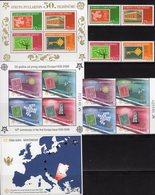 Perf.CEPT 2006 Türkiye 3495/8,Bl.59,CRNA GORA 108/1VB+Block 2A+3B ** 71€ S/s Blocs Hb Art Sheets Bf 50 Years EUROPA - Emissions Communes