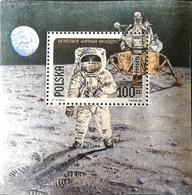 Poland  1989 First Moon Landing 20th. Anniv. S/S - 1944-.... Republic
