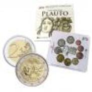 Italie 2016 : Coffret BU Des 9 Pièces (dont La 2€ Commémo 'Plauto') - Italie