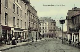 54 Longwy Bas Rue De Metz Hotel Café Paix  Couleur - Longwy