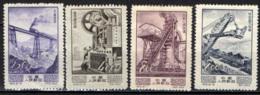 CINA - REPUBBLICA POPOLARE - 1954 - PROGRESSO ECONOMICO IN CINA - SENZA GOMMA - Unused Stamps