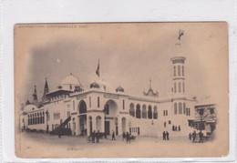 EXPOSITION UNIVERSALLE 1900. L'ALGERIE- BLEUP - Algerije