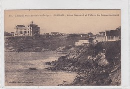 DAKAR.ANSE BERNARD ET PALAIS DU BOUVERNEMENT. FORTIER. SENEGAL. CIRCA 1900s- BLEUP - Senegal