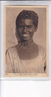 AUSSUAN TIPE OF THE BISHARIN RACE. EDIT LEHNERT & LANDROCK. EGYPT. CIRCA 1900s- BLEUP - Egypt