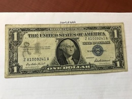 USA United States $1.00 Banknote 1957  #26 - National Currency