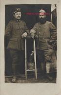 Mai 1918-Charles Et Henri BROUSSET Fils D'Adrien (négociant En Grains à L'Isle En Dodon) - Guerre, Militaire