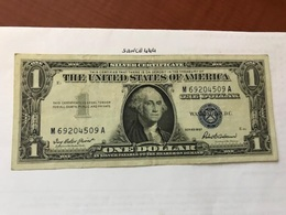 USA United States $1.00 Banknote 1957  #27 - Devise Nationale