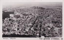 VUE GENERALE D'ATHENES. CIRCA 1930s- BLEUP - Griekenland