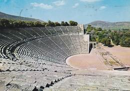 EPIDAURE, LE THEATRE. CIRCULE 1980 TO ARGENTINE- BLEUP - Griekenland