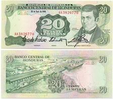 Honduras - 20 Lempiras 1990 UNC Ukr-OP - Honduras