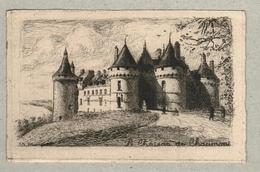 37 - Indre Et Loire - Eau Forte - Le Château De Chaumont - Mayeur - Francia