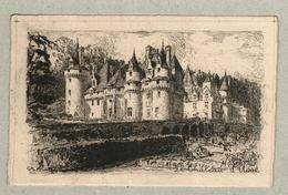 37 - Indre Et Loire - Eau Forte - Le Château D'Ussé - Mayeur - Francia