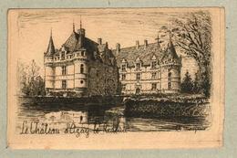 37 - Indre Et Loire - Eau Forte - Le Château D'Azay Le Rideau - Francia