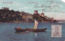 CONSTANTINOPLE. ROUMELI HISSAR. CIRCULEE 1944 TO BUENOS AIRES, STAMP ARGENTINE- BLEUP - Turkije