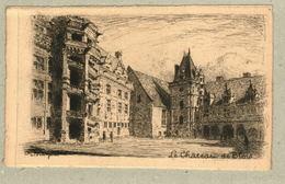 37 - Indre Et Loire - Eau Forte - Le Château De Blois - Francia