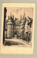 37 - Indre Et Loire - Eau Forte - Le Château De Langeais - Francia