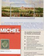 Rundschau MICHEL Briefmarken 11/2018 New 6€ Stamp Of The World Catalogue/magacine Of Germany ISBN 978-3-95402-600-5 - Tedesco