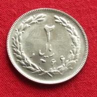 Iran 2 Rials 1987 / SH 1366 KM# 1233 Lt 160  Irão Persia Persien - Iran