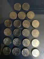 LSJP BRAZIL 50 CENT COMPLETE COIN SERIES - Brésil