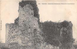 85-CHATELLIERS CHATEAUMUR-RUINES DU CHÂTEAU-N°295-F/0127 - Autres Communes
