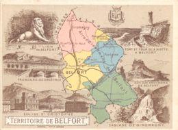 90-DEPARTEMENT DU TERRITOIRE DE BELFORT-N°296-D/0171 - Frankrijk