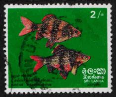 Sri Lanka - Ceylon - Scott #476 Used (2) Missing Perf - Sri Lanka (Ceylon) (1948-...)