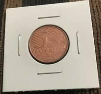 LSJP BRAZIL COIN 5 CENTS 2000 - LOW SHOT - Brésil