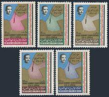 Jordan 466-470,MNH.Michel 463-467. Arab League Conference 1964.Map. - Jordan