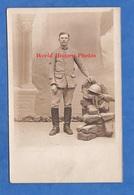 CPA Photo - Beau Portrait Studio Du Poilu François BOUTERIN Du 8e Régiment De Génie - Patch Transmissions Casque - WW1 - War 1914-18