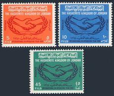 Jordan 524-524B,MNH.Michel 561-563. Cooperation Year ICY-1965. - Jordan
