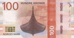 NORWAY P. NEW 100 K 2016 UNC - Norvège