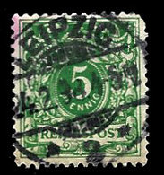Germany 1889, #47 Reichspost 5phenig, Used. Leipzig Cancel, F - Germany
