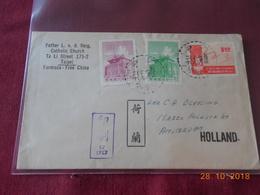 Lettre De Formose De 1963 Pour Les Pays Bas (pour La Date Verifier..) - 1945-... República De China
