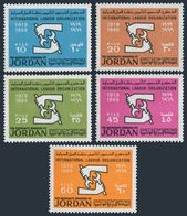 Jordan 565-569,MNH.Michel 693-697. ILO,50th Ann.1969. - Jordan