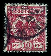 Germany 1889, #48 Reichspost 10 Pfennig, Used., - Germany