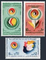 Jordan 668-670,MNH.Michel 800-802. Year Against Racial Discrimination,IYAED-1971 - Jordan