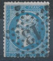 N°22  NUANCE ET OBLITERATION - 1862 Napoléon III