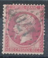 N°24  NUANCE ET OBLITERATION - 1862 Napoléon III