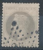 N°27  NUANCE ET OBLITERATION - 1863-1870 Napoléon III Lauré