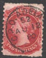 2/- Carmine  SG 132 - 1855-1912 South Australia