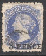 3d. On 4d. Ultra  SG 112 - 1855-1912 South Australia
