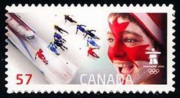 Canada (Scott No.2375 - Jeux Olympiques / 2010 / Winter Olympics) (**) - 1952-.... Règne D'Elizabeth II