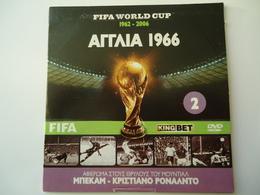 FIFA WORLD CUP FOOTBALL DVDs U. K UNITED KINGDOM IN ENGLISH - Sports