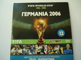 FIFA WORLD CUP FOOTBALL DVDs GERMANY 2006 IN ENGLISH - Sports